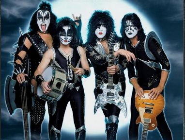 Le groupe Kiss