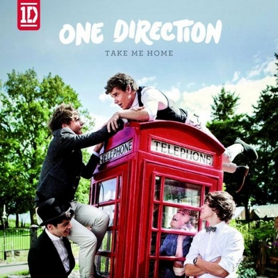 la pochette de Take Me Home de One Direction
