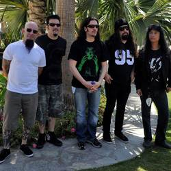 le groupe Anthrax
